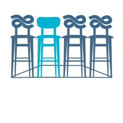 "Logotipo ""O que dure un Xamón"" Afterwork do Club AEMPE"