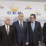 Presidente da CEP Jorge Cebreiros Arce, Presidente da CEP